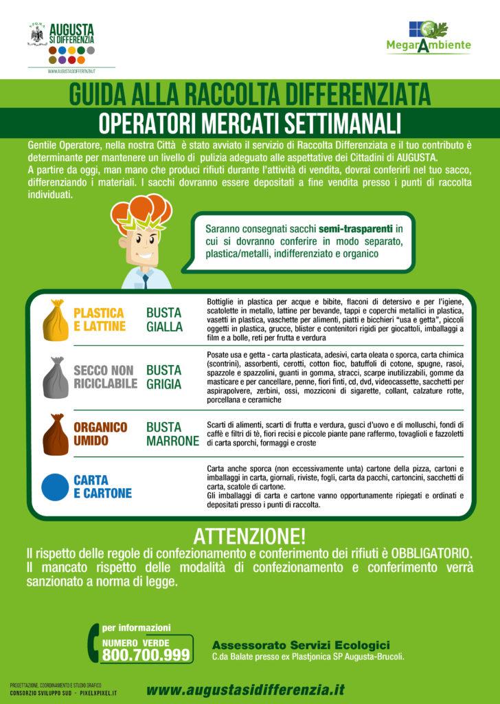 shop Nuova dopo Raccolta Differenziata, Augusta: Operatori Mercatali, tocca ...