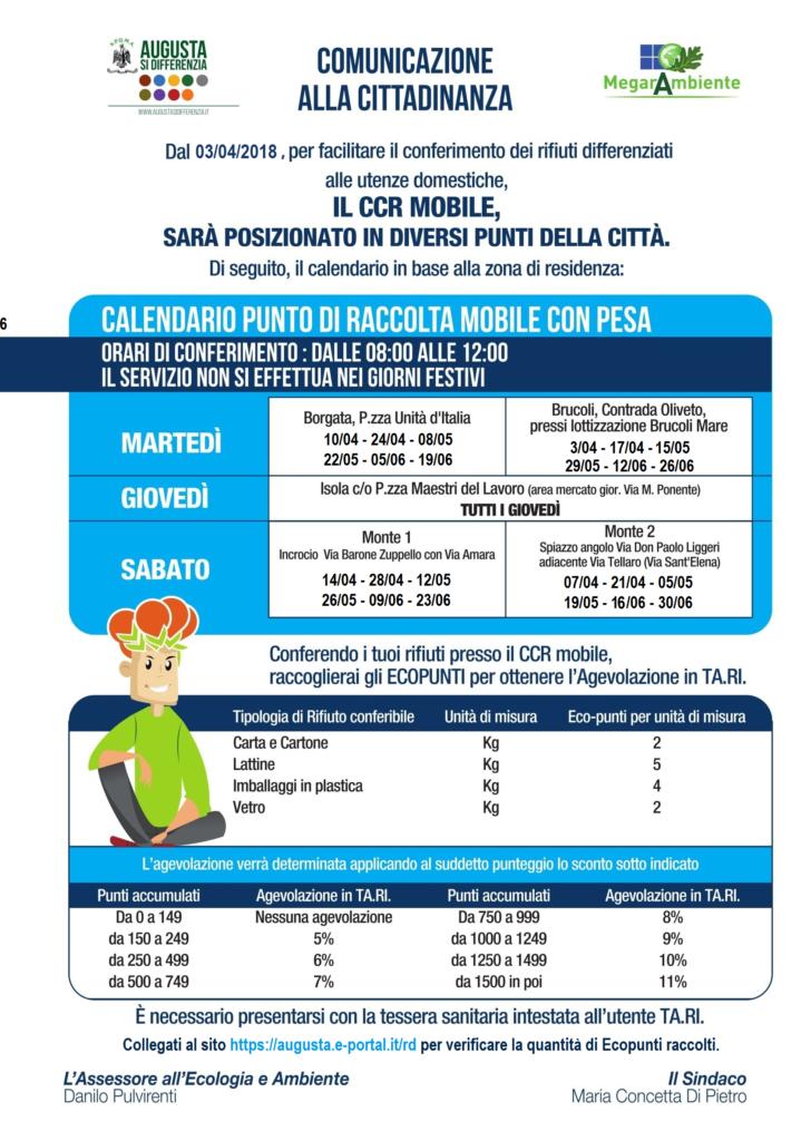 Calendario Aprile 2018 Con Festivita.Nuovi Calendari Da Aprile 2018 Augusta Si Differenzia